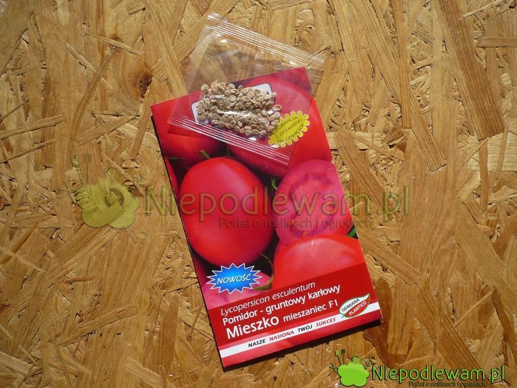Nasiona pomidora Mieszko. Fot.Niepodlewam